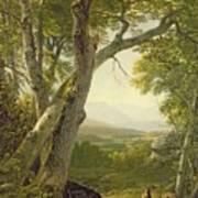 Shandaken Ridge - Kingston Print by Asher Brown Durand