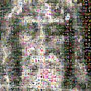Shroud Of Turin Print by Gilberto Viciedo