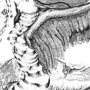 Silent Flight Print by Ron Bissett
