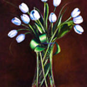 Simply Tulips Print by Shannon Grissom