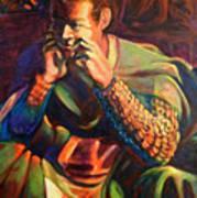 Sir Lancelot Print by David Matthews