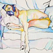 Sleeping Beauty Print by Pat Saunders-White