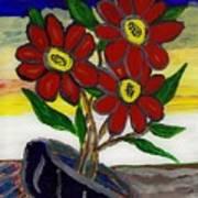 Slipper Flower Print by Enrico Pischiera