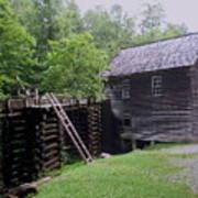 Smoky Mountain Mill Print by CGHepburn Scenic Photos
