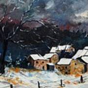 Snow 57 Print by Pol Ledent