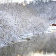 Snow Storm Print by Joan Powell