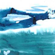 Snowy Egrets Print by Mui-Joo Wee