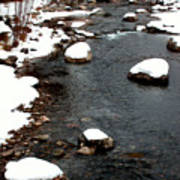 Snowy River Print by The Forests Edge Photography - Diane Sandoval