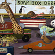 Soap Box Derby Print by Leah Saulnier The Painting Maniac