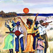Songs Of Zion Print by Diane Britton Dunham