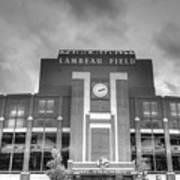 South End Zone Lambeau Field Print by James Darmawan
