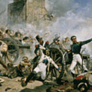 Spanish Uprising Against Napoleon In Spain Print by Joaquin Sorolla y Bastida