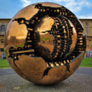 Sphere Within Sphere Print by Inge Johnsson