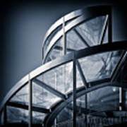 Spiral Staircase Print by Dave Bowman