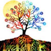 Spiritual Art - Tree Of Life Print by Sharon Cummings