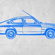 Sports Car Print by Naxart Studio