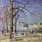 Spring In Hyde Park Print by Alice Taite Fanner