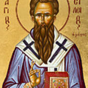 St Basil The Great Print by Julia Bridget Hayes