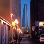 St. Louis Arch Print by Steve Karol