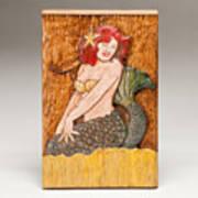 Star Mermaid Print by James Neill