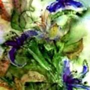 Starflower Print by Anne Duke