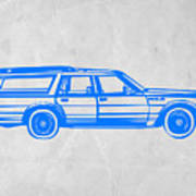 Station Wagon Print by Naxart Studio