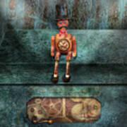 Steampunk - My Favorite Toy Print by Mike Savad