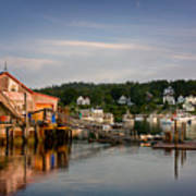 Stonington Lobster Co-op Print by Susan Cole Kelly
