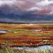 Storm Coming Print by Peter R Davidson