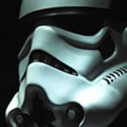 Stormtrooper Helmet Print by Micah May