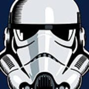 Stormtrooper Print by IKONOGRAPHI Art and Design