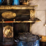 Stove - The Stove Print by Mike Savad