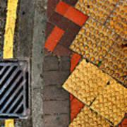 Street Abstract Print by Joe Bonita