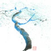 Strong Wind Print by Mui-Joo Wee