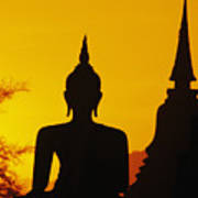Sukhothai Temple Print by Gloria & Richard Maschmeyer - Printscapes