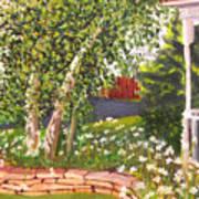 Summer Garden Print by Lea Novak