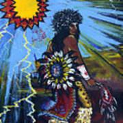 Sun Dancer Print by Karon Melillo DeVega