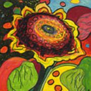 Sunflower Surprise Print by Jennifer Lommers