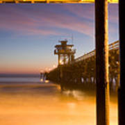 Sunset At San Clemente Print by Cliff Wassmann