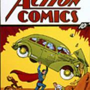 Superman Comic Book, 1938 Print by Granger