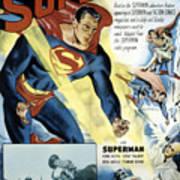 Superman, Serial, Kirk Alyn, Chapter 6 Print by Everett