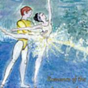 Swan Lake Ballet Poster Print by Marie Loh