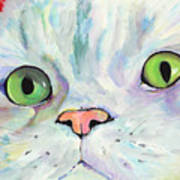 Sweet Puss Print by Pat Saunders-White