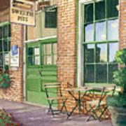 Sweetie Pies Bakery Print by Gail Chandler