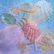 Swept Out With The Tide Print by Betty LaRue