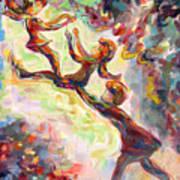 Swinging High Print by Naomi Gerrard