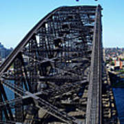 Sydney Harbour Bridge Print by Melanie Viola
