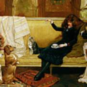 Teatime Treat Print by John Charlton