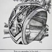 The Aggie Ring Print by Barbara Gilroy