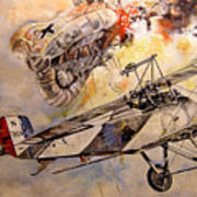 The Balloon Buster Print by Marc Stewart